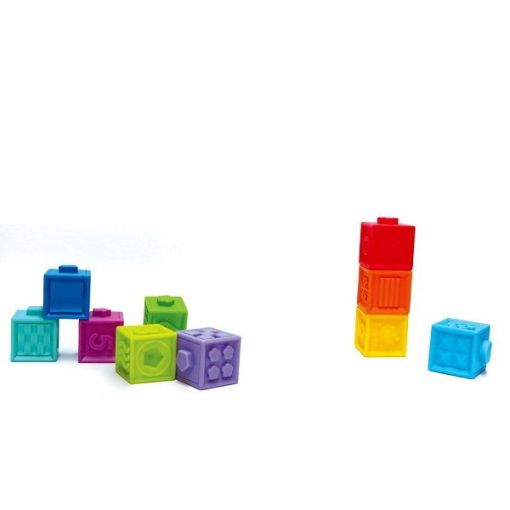 Edushape Textured Pop Blocks Toy