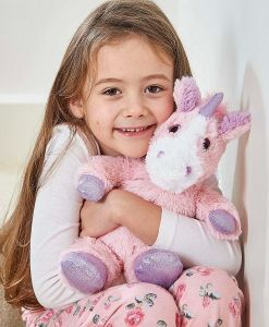 Warmies Large Pink Sparkly Unicorn