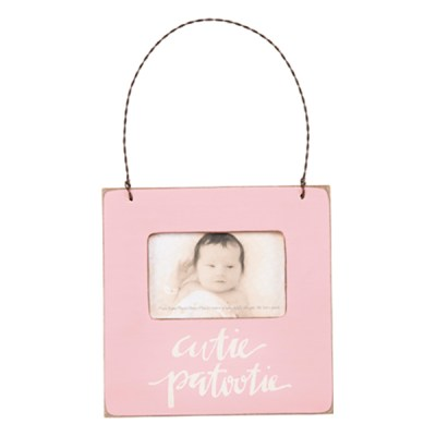 Pink Baby Photo Frame