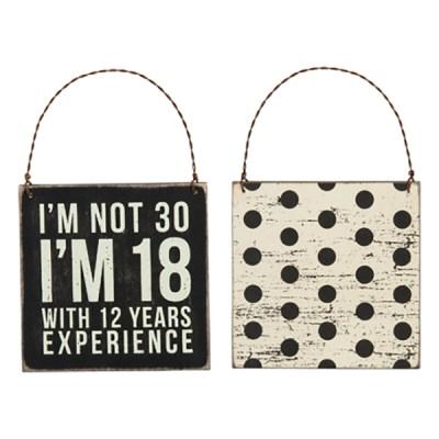 30th Birthday Sign
