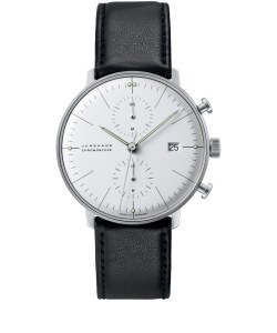 Junghans Black Max Bill Chronoscope Watch