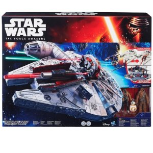 Star Wars The Force Awakens Millenium Falcon Boxed