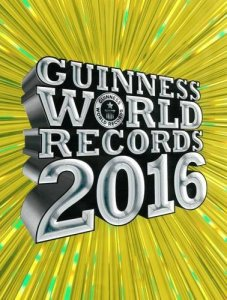 The Guinness Book Of Records 2016 (front)