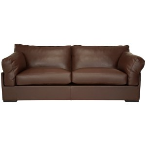 Java Leather Grand Sofa from John Lewis