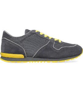 TODS Suede and mesh trainers