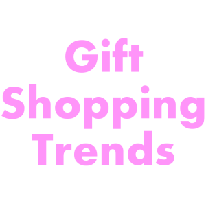 Gift Shopping Trends square pink