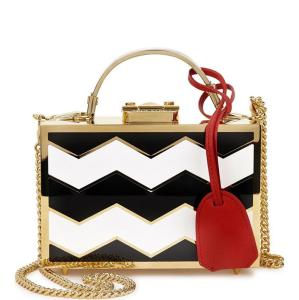 Mark Cross Grace zigzag box bag