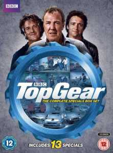 Top Gear box set featuring all special episodes