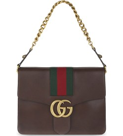 Gucci GG Marmont Leather Shoulder Bag at Selfridges