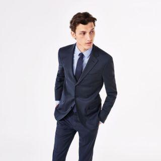 GANT Diamond G Men's Travel Suit Blazer Starlight Blue