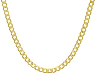 Citerna 9ct Yellow Gold Curb Necklace