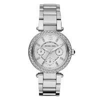 Michael Kors Ladies Stainless Steel Stone Set Watch