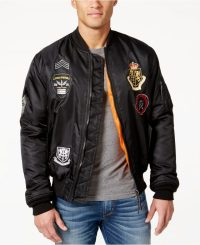 Macy's Ring of Fire Men's Flight Jacket