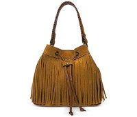 Patricia Nash Suede Fringe Elisa Bucket Bag - The Boho Bag at Macy's