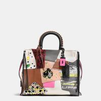 Rogue In Embellished Patchwork Mixed Materials at Coach