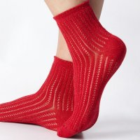Snug Patterned Socks with Application at Calzedonia