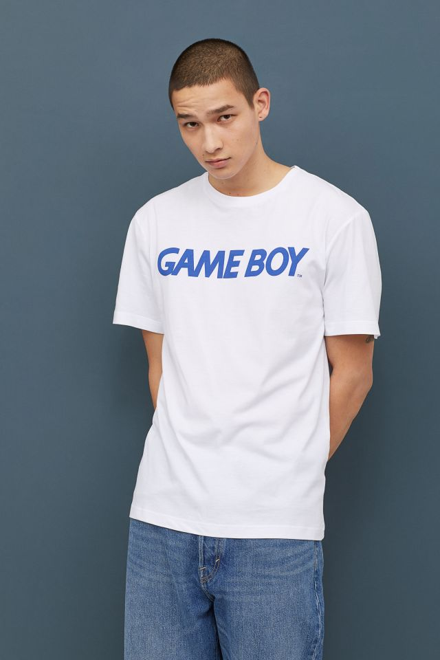 Game Boy motif white t-shirt at H&M