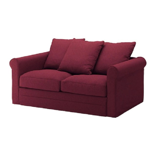 Grönlid 2 seat sofa tallmyra dark red