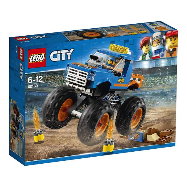 Lego City 60180 City Great Vehicles Monster Truck Toy