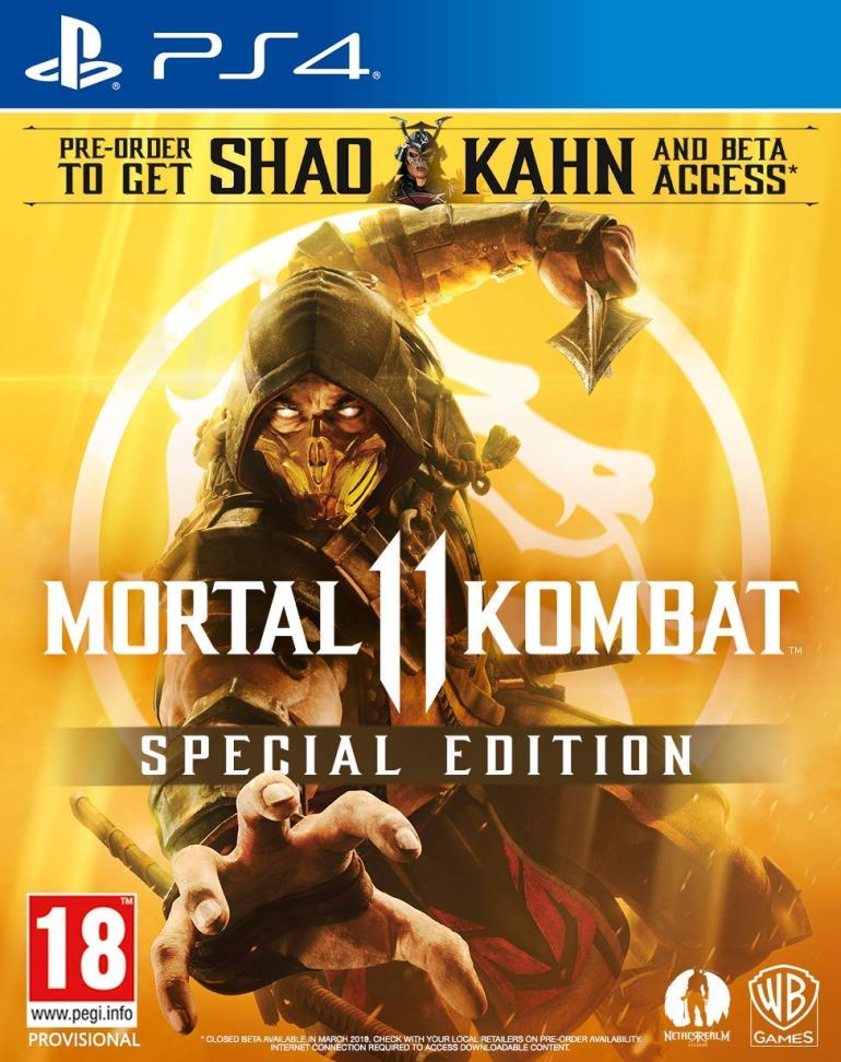 Mortal Kombat 11 Special Edition at Amazon