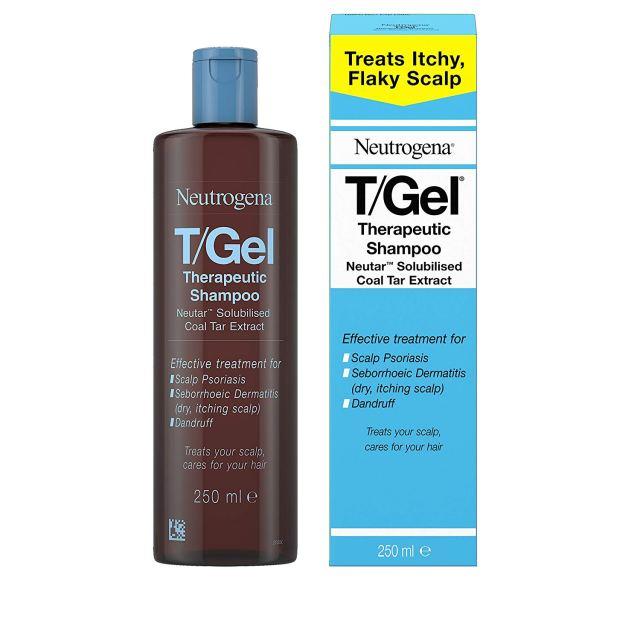 Neutrogena T-Gel Therapeutic shampoo at Amazon