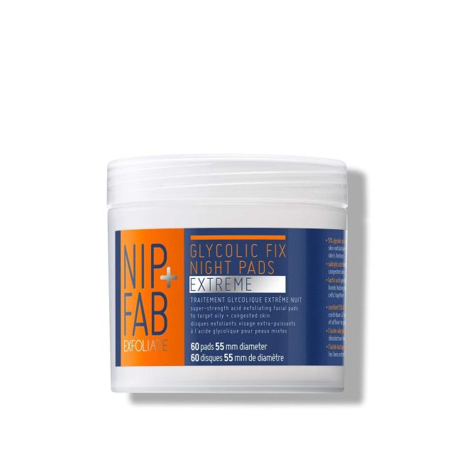 Nip+Fab Glycolic Fix Extreme Night Pads at Amazon