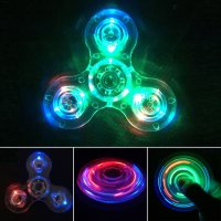 Crystal Led Light Fidget Spinner at Amazon