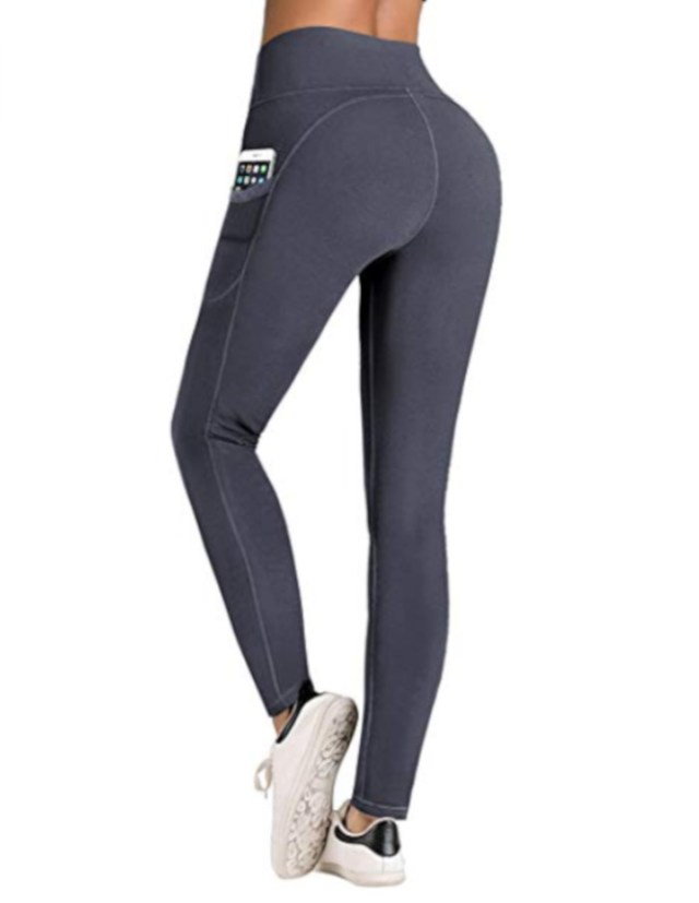 IUGA Yoga Pants with Pockets at Amazon