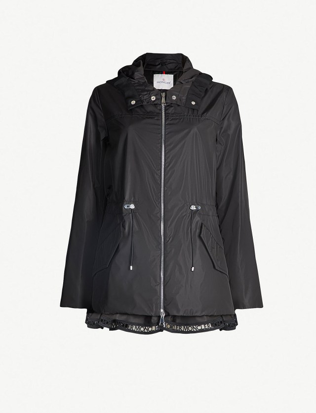 MONCLER Loty Hooded Shell Jacket at Selfridges