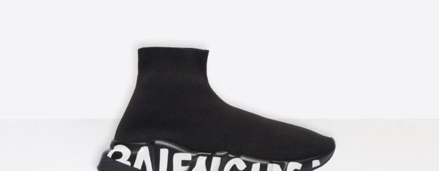 Balenciaga speed shoes