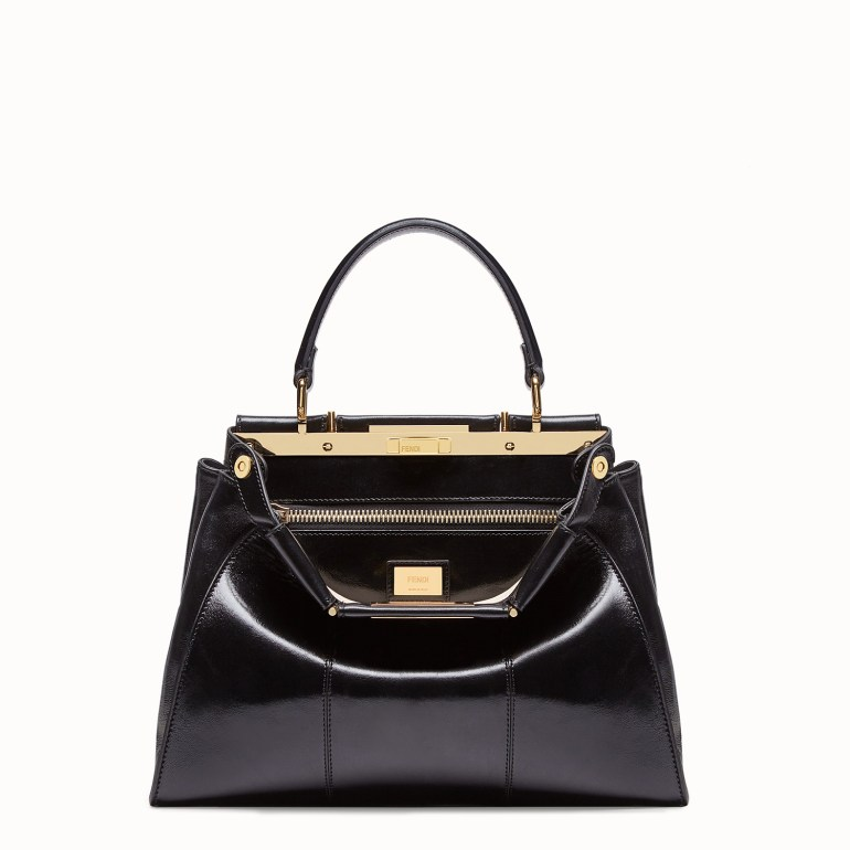 Fendi Peekaboo Iconic Medium black leather bag