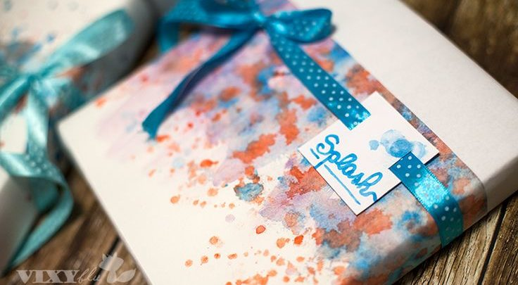 gift wrapping inspiration splash