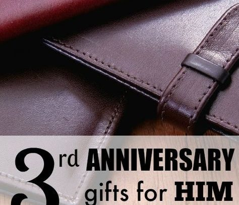 gifts for him 3rd