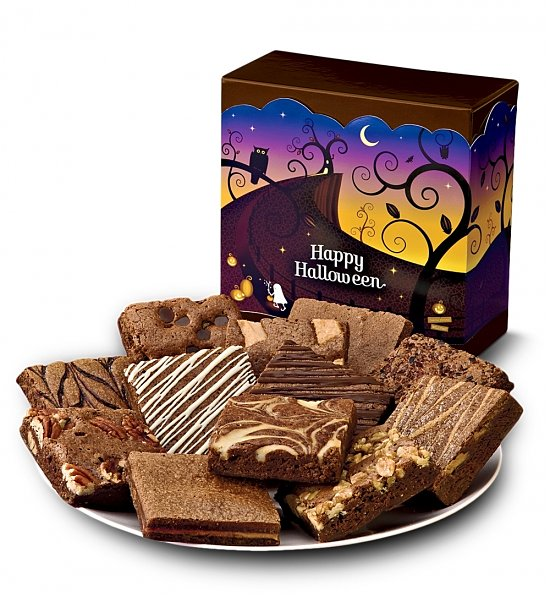 Halloween-Brownies
