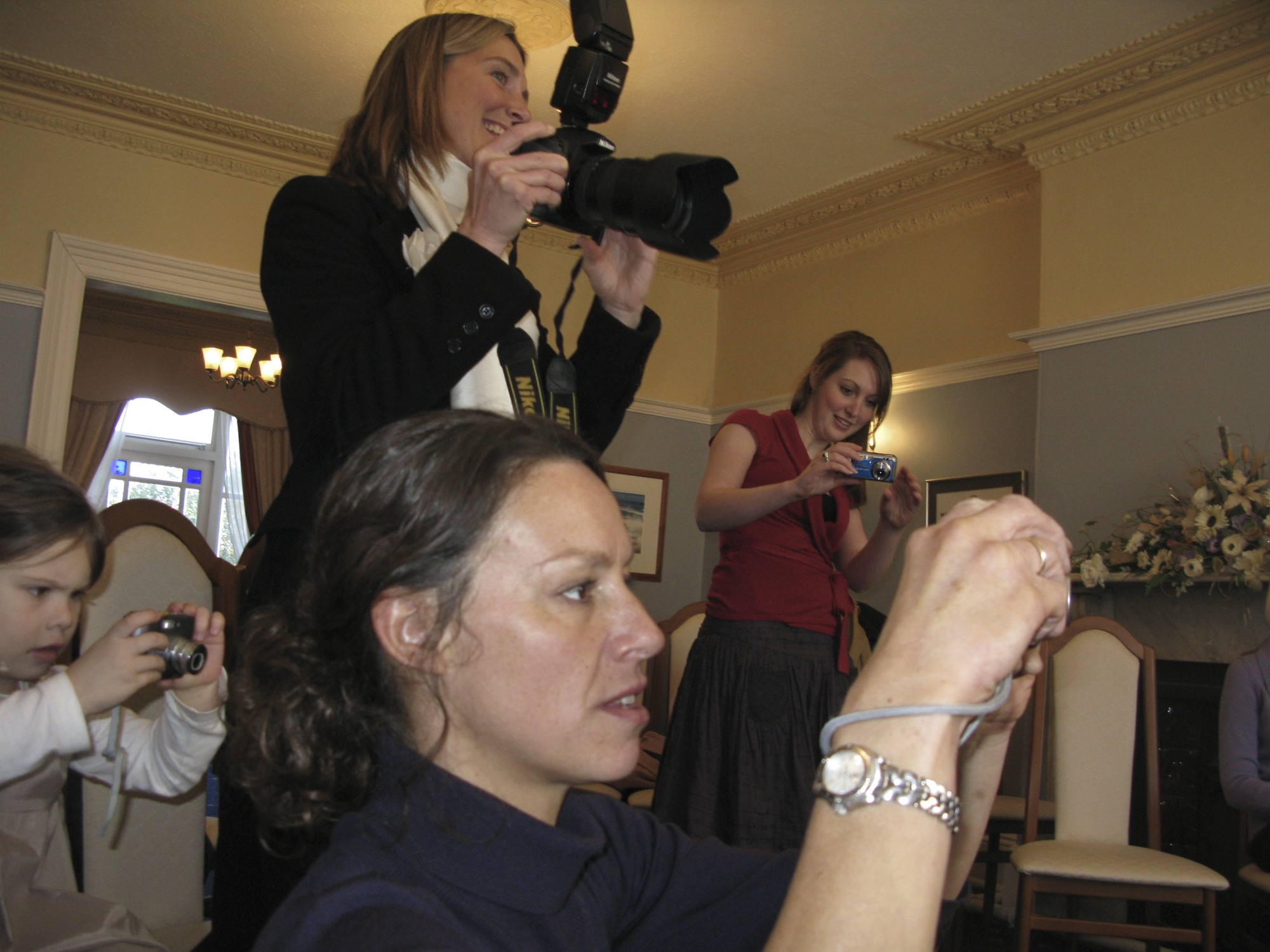 Winchurch Women Turn Paparazzi (Photo by T.R. Cross)