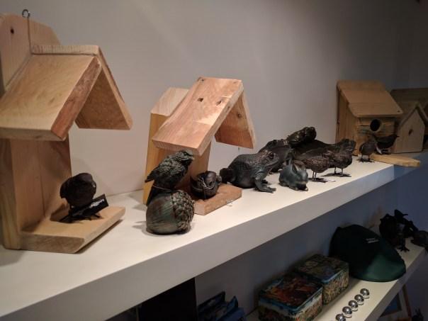 Bird boxes built at Aspire
