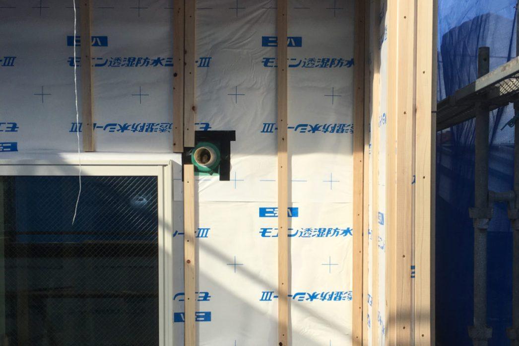外壁通気工法と屋根通気工法