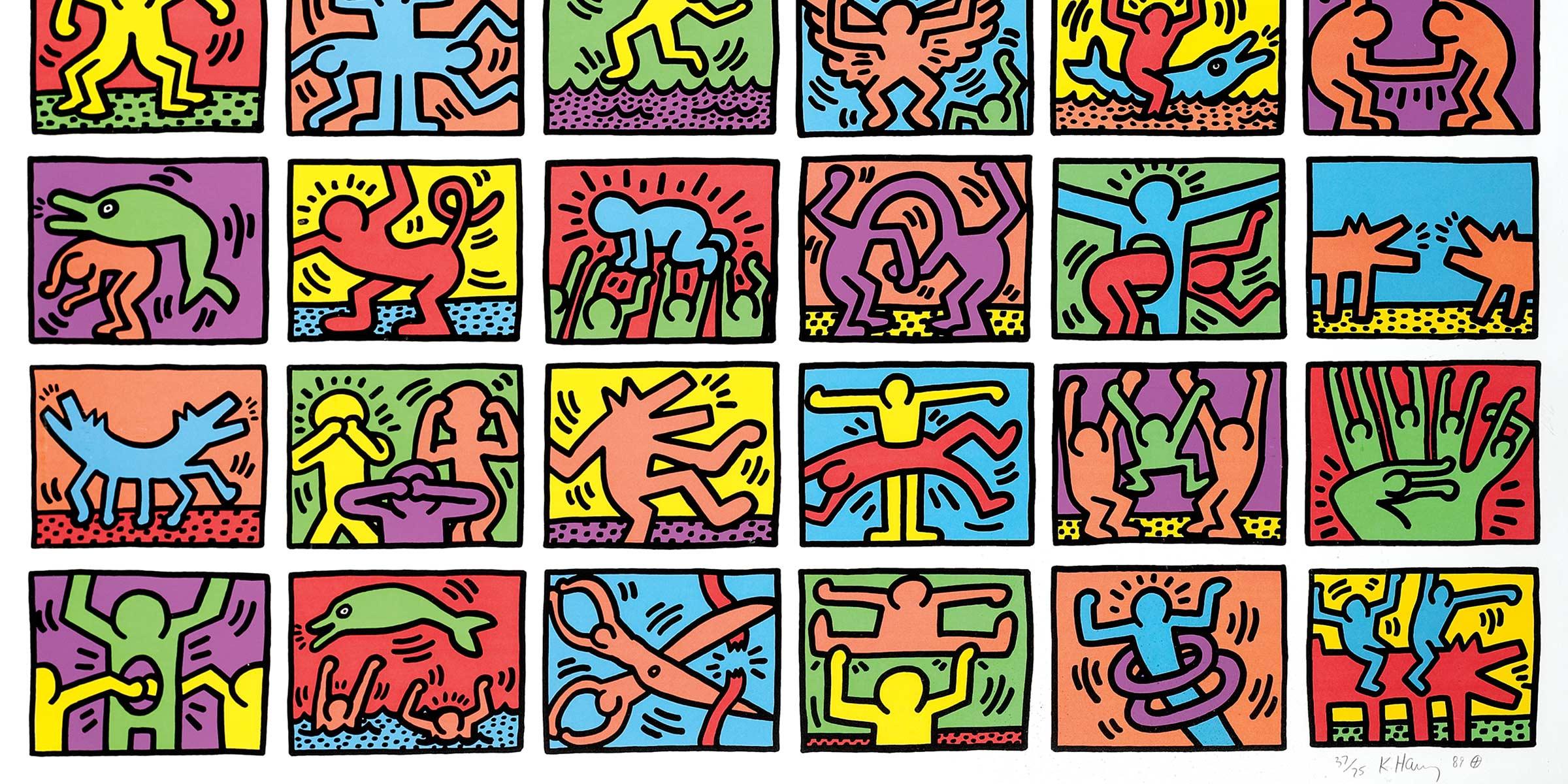 Artist Research Keith Haring Giga Edtucker