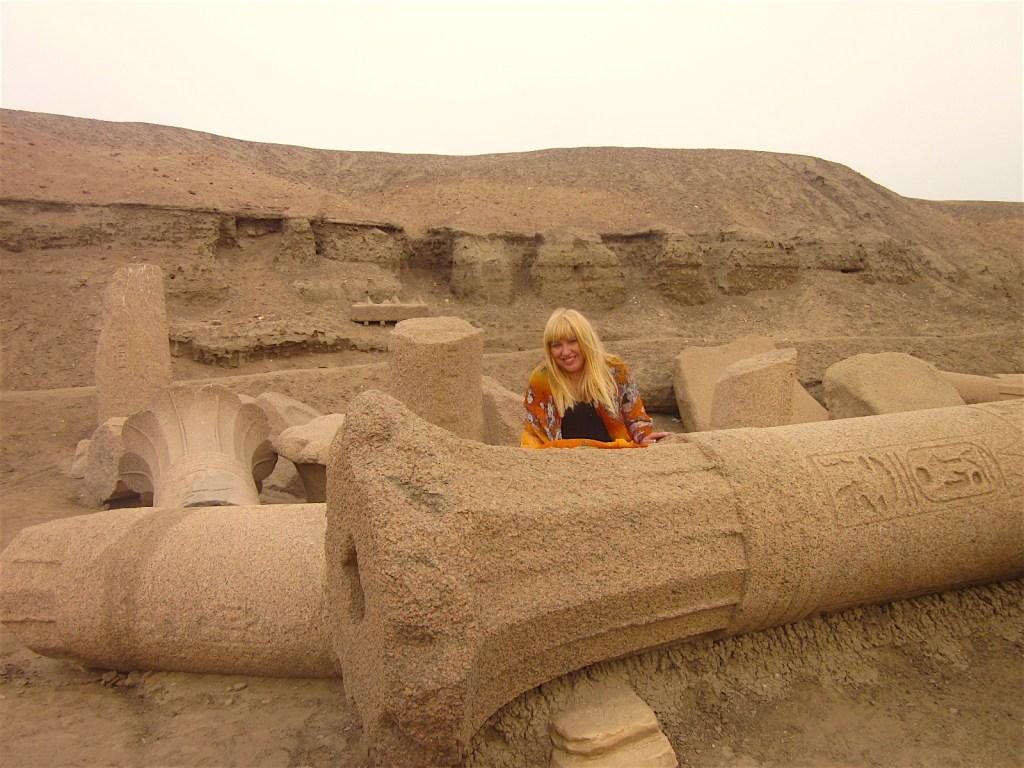 Antoine Gigal in Tanis Egypt