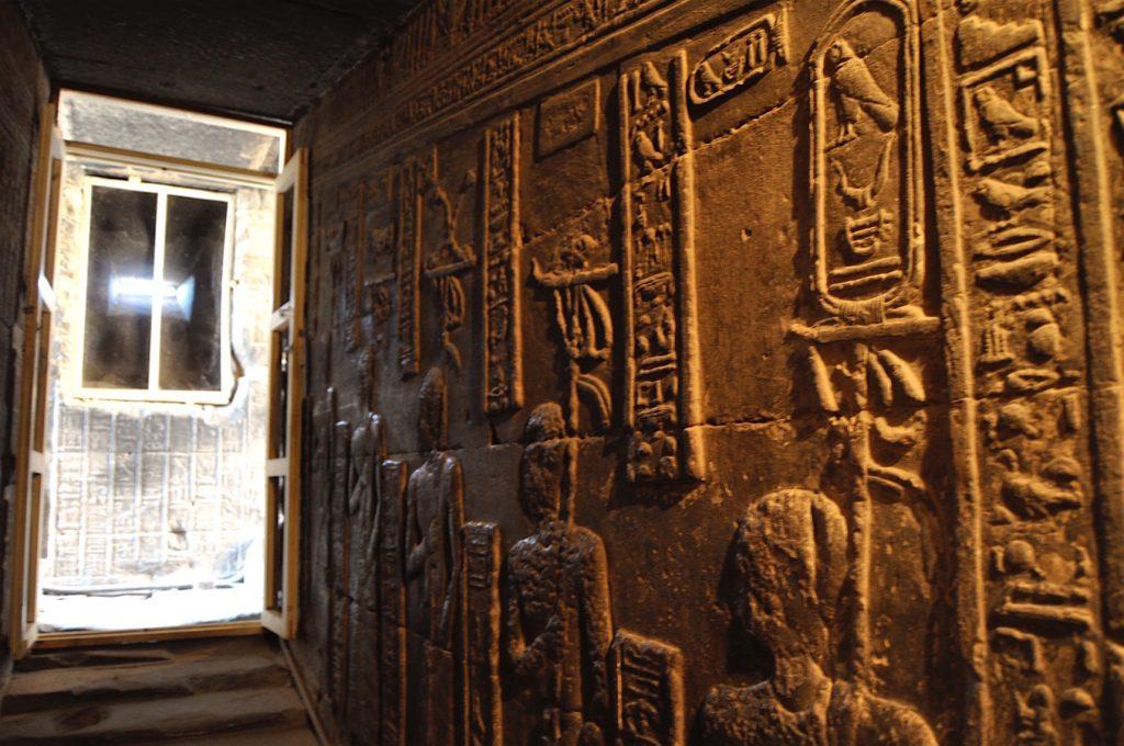 Denderah Temple by Antoine Gigal