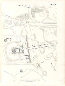 Temple de Mout à Karnak par Lepsius ,Domaine Public