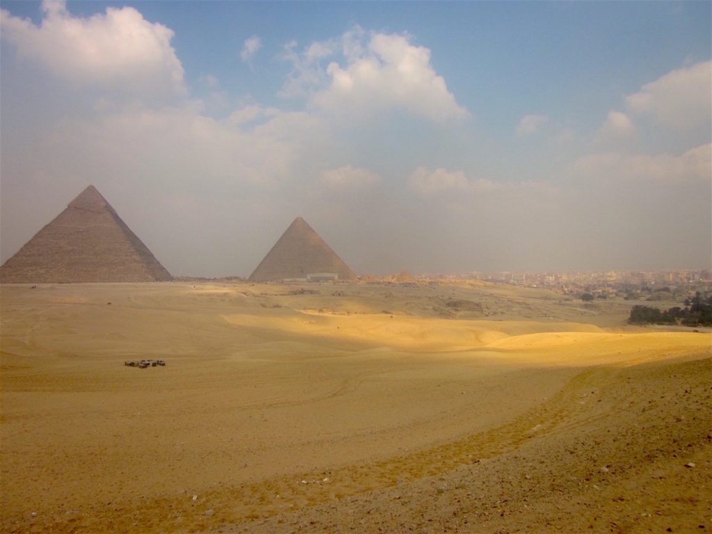 Photo:Giza Plateau by Antoine Gigal