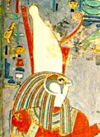 Horus with the pschent