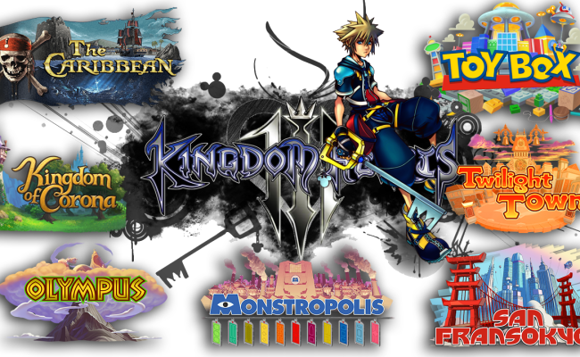 Kingdom Hearts 3 Every World Compilation Gigmax Games