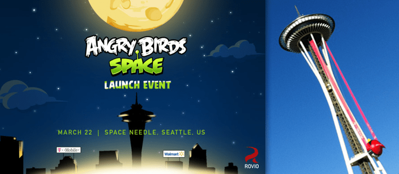 Angry Birds into Space!