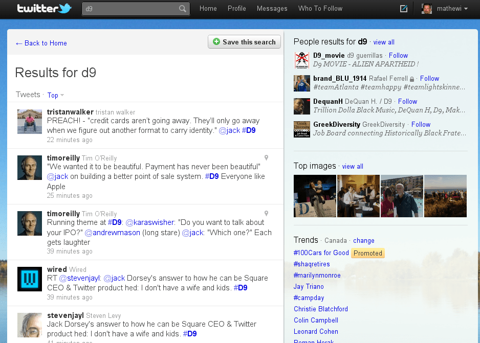 New Twitter Search Is Nice, But Still Needs Work