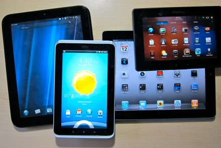 Despite slowing growth, tablet sales expected to overtake PCs next year
