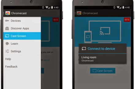 At long last, Android mirroring comes to Chromecast
