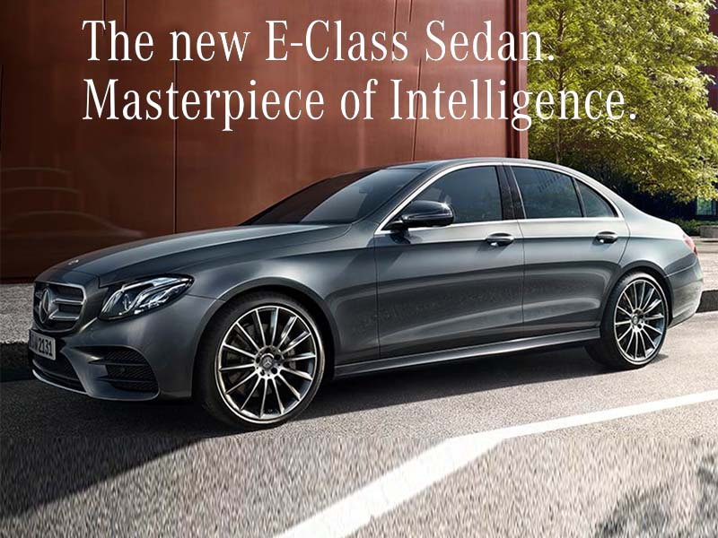 Mercedes e class VR