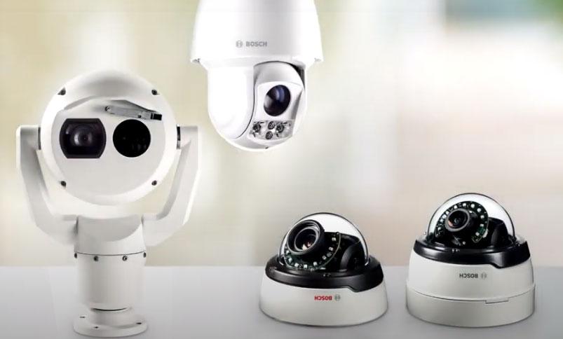bosch cctv surveillance camera